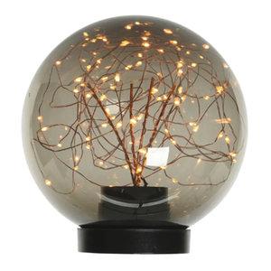 Micro LED Bal Koper 30cm (staand) (140 LED)